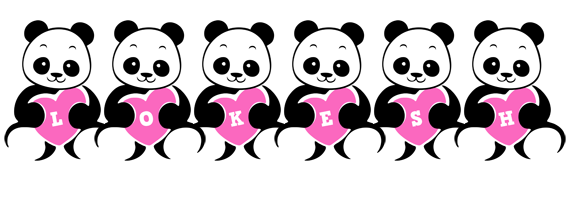 Lokesh love-panda logo