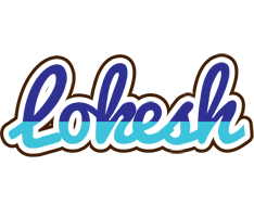 Lokesh raining logo