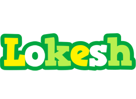 Lokesh soccer logo