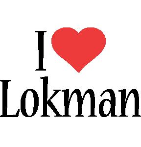 Lokman i-love logo