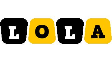 Lola boots logo