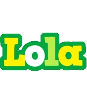 Lola soccer logo