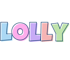Lolly pastel logo
