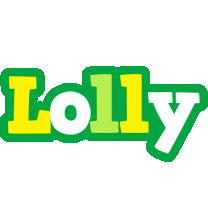 Lolly soccer logo