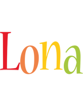 Lona birthday logo