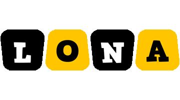 Lona boots logo