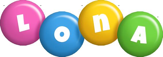 Lona candy logo