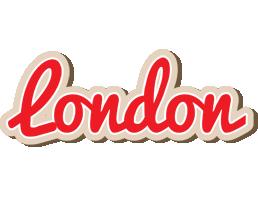 London chocolate logo