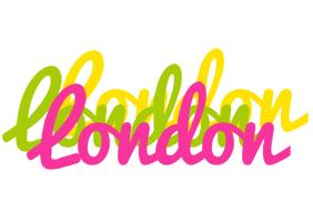London sweets logo