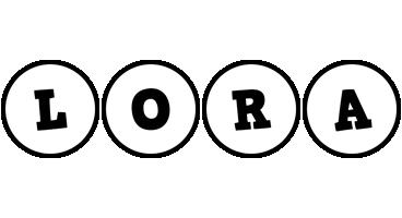 Lora handy logo