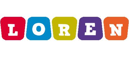 Loren daycare logo