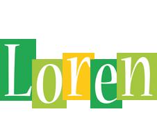 Loren lemonade logo