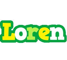 Loren soccer logo