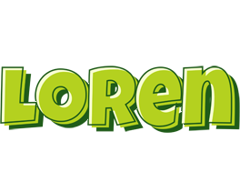 Loren summer logo