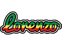 Lorenzo african logo