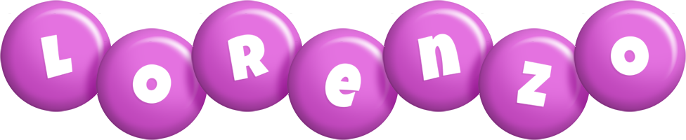 Lorenzo candy-purple logo