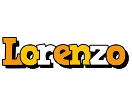 Lorenzo cartoon logo