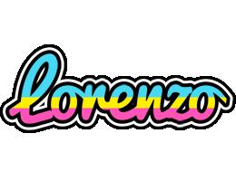 Lorenzo circus logo