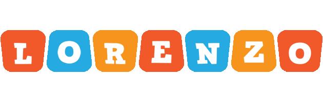 Lorenzo comics logo