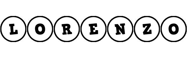Lorenzo handy logo