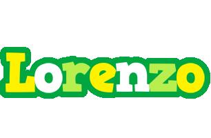 Lorenzo soccer logo