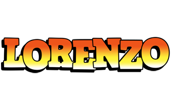 Lorenzo sunset logo