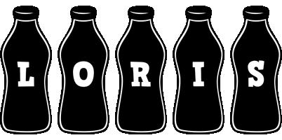 Loris bottle logo