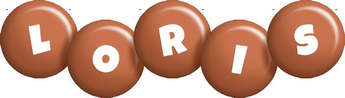 Loris candy-brown logo