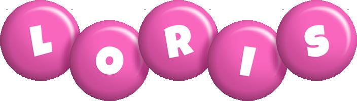 Loris candy-pink logo