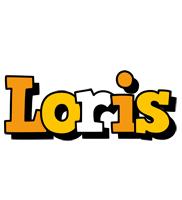 Loris cartoon logo