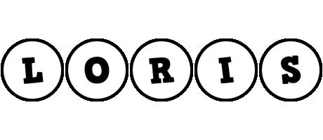 Loris handy logo