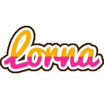 Lorna smoothie logo