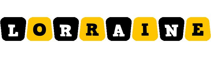 Lorraine boots logo