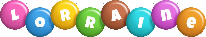 Lorraine candy logo