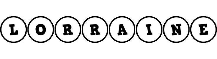 Lorraine handy logo