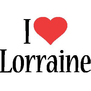 Lorraine i-love logo
