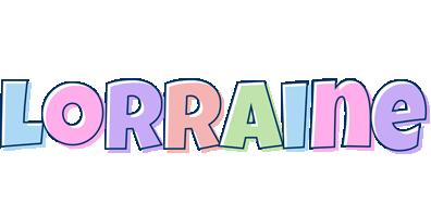 Lorraine pastel logo