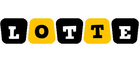 Lotte boots logo