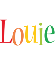 Louie birthday logo
