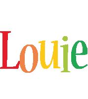 Louie birthday logo
