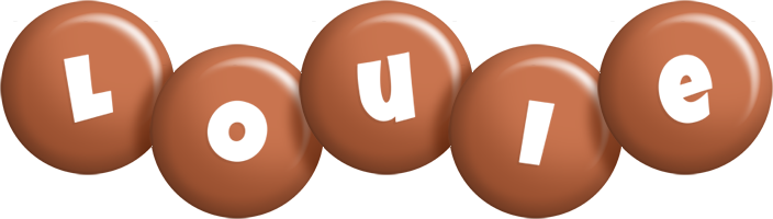 Louie candy-brown logo