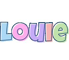 Louie pastel logo