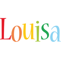Louisa birthday logo