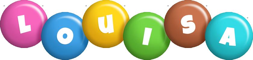 Louisa candy logo