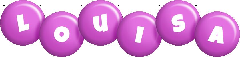 Louisa candy-purple logo