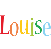 Louise birthday logo