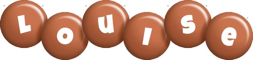 Louise candy-brown logo