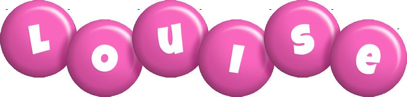 Louise candy-pink logo