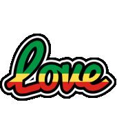 Love african logo