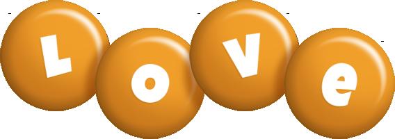 Love candy-orange logo